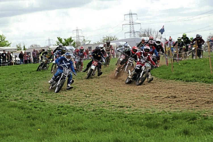 a9f7024ae3c The Classic Dirt Bike sponsored AMCA British Classic Motocross Championship  got off to a cracking start at Yatton Keynall near Bath on April 23.