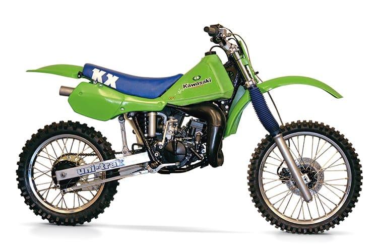 kawasaki kx125 classic dirt bike. Black Bedroom Furniture Sets. Home Design Ideas
