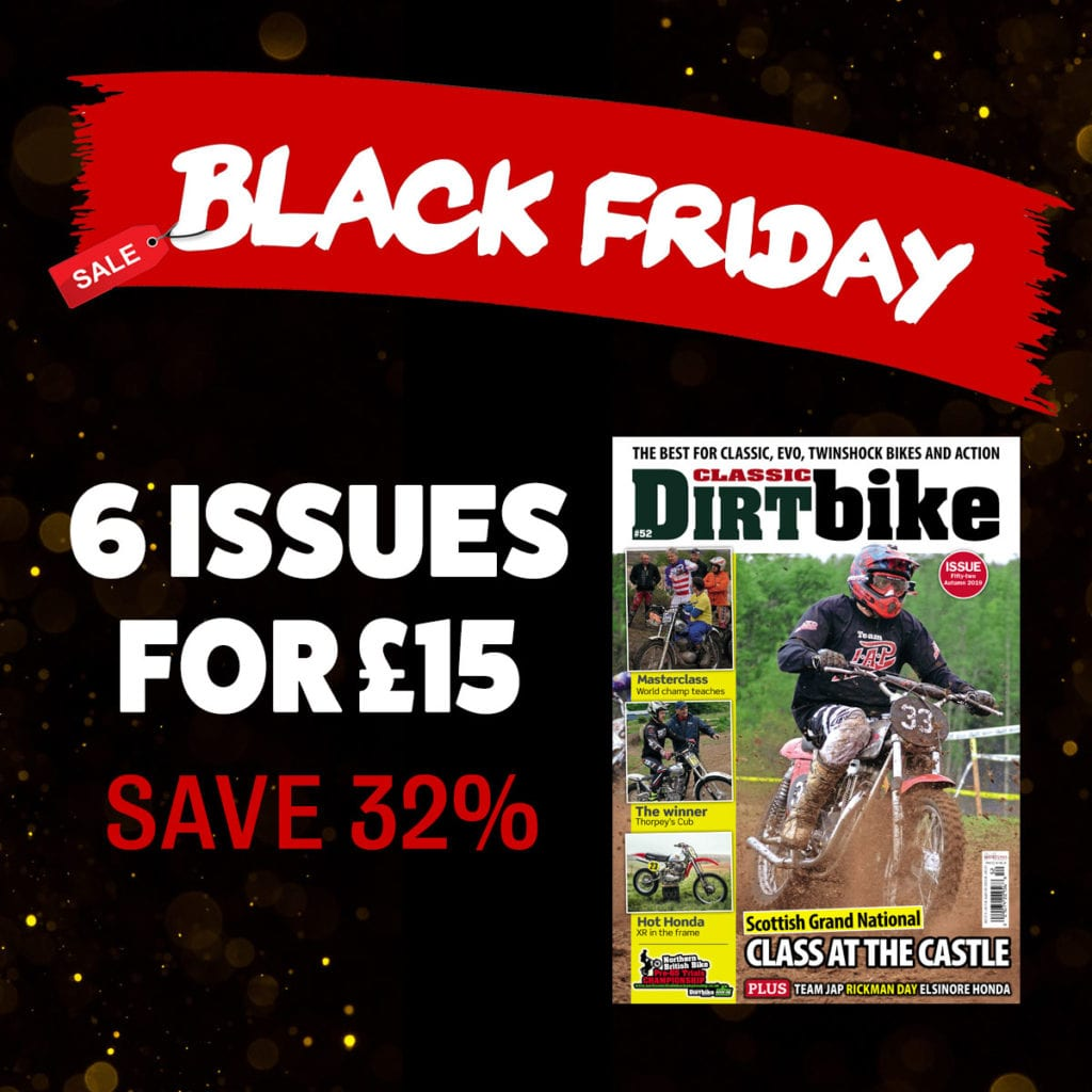 Classic Dirt Bike Black Friday offer