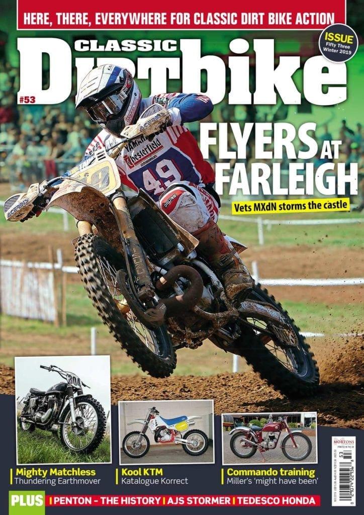Classic Dirt Bike cover